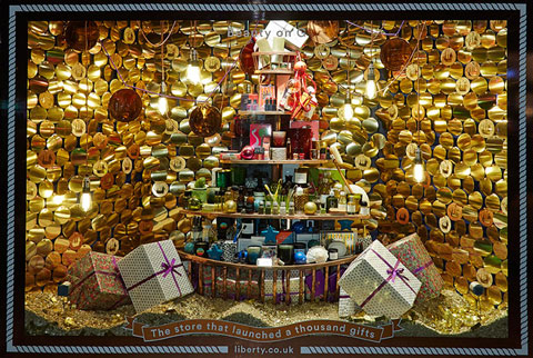 Liberty Christmas Window